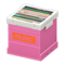 Record Box (Pink - Logo) NH Icon.png