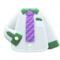 Work Shirt (Purple-Striped Necktie) NH Icon.png