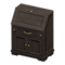 Antique Bureau (Black) NH Icon.png