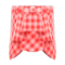 Draped Skirt (Red) NH Icon.png