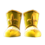 Gold-Armor Shoes
