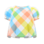 Plaid Puffed-Sleeve Shirt (Energetic Plaid) NH Icon.png