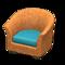 Rattan Armchair (Reddish Brown) NH Icon.png