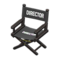 Director's Chair (Black - Director Black) NH Icon.png