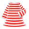Striped Dress (Red) NH Icon.png
