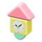 Wooden-Block Wall Clock (Pastel) NH Icon.png
