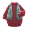Shawl-and-Dress Combo (Red) NH Icon.png