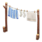 Clothesline (Blue Stripes) NH Icon.png