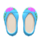 Embroidered Shoes (Blue) NH Icon.png