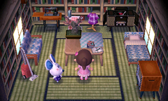 Dora's house interior