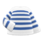 Striped Shirt (Navy Blue) NH Icon.png