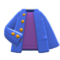 After-School Jacket (Blue) NH Icon.png