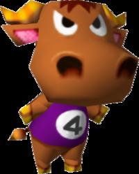 Chuck, an Animal Crossing villager.