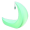 Crescent-Moon Chair (Green) NH Icon.png