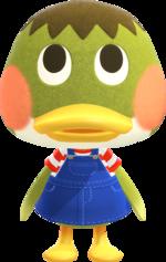 Artwork of Deena the Duck