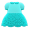 Floral Lace Dress (Light Blue) NH Icon.png