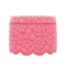 Floral Lace Skirt (Pink) NH Icon.png