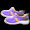 Kiddie Sneakers (Purple) NH Icon.png