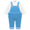 Denim Overalls (Blue) NH Icon.png