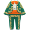 Mariachi Clothing (Green) NH Icon.png