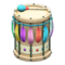 Festivale Drum (Rainbow) NH Icon.png