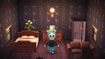 Interior of Ed's house in Animal Crossing: New Horizons