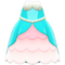 Mermaid Princess Dress (Light Blue) NH Icon.png
