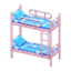 Bunk Bed (Pink - Space)