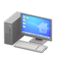 Desktop Computer (Silver - Desktop) NH Icon.png