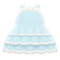 Dollhouse Dress (Light Blue) NH Icon.png