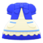 Fairy-Tale Dress (Blue) NH Icon.png