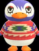 Artwork of Flo the Penguin