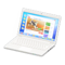 Laptop (White - Web Browsing) NH Icon.png