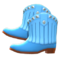 Cowboy Boots (Blue) NH Icon.png