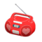 Cute Music Player (Red) NH Icon.png