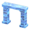 Frozen Arch (Ice Blue) NH Icon.png