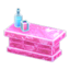Frozen Counter (Ice Pink)