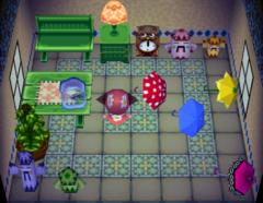Emerald's house interior