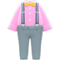 Suspender Outfit (Pink) NH Icon.png