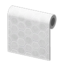 White Honeycomb-Tile Wall