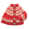 Yodel Cardigan (Red) NH Icon.png