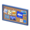 Corkboard (Blue - Fish) NH Icon.png