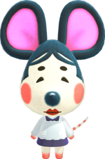 Greta, an Animal Crossing villager.