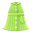 Sleeveless Shirtdress (Lime) NH Icon.png