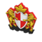 Crest Doorplate (Red & White) NH Icon.png