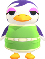 Artwork of Gwen the Penguin