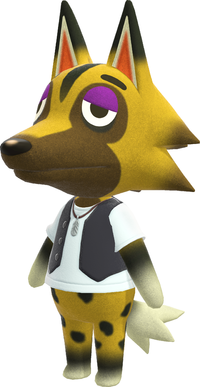 Kyle, an Animal Crossing villager.