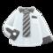 Work Shirt (White-Striped Necktie) NH Icon.png
