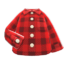 Flannel Shirt (Red) NH Icon.png