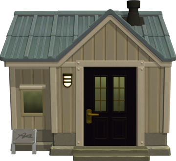 Exterior of Barold's house in Animal Crossing: New Horizons